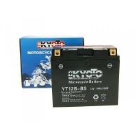 Batterie YT12B-BS avec pack acide Kyoto
