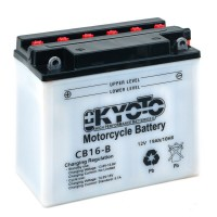 Batterie YB16-B-CX KYOTO avec pack acide