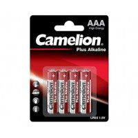 Blister de 4 piles Alcaline Plus AAA LR03 Camelion